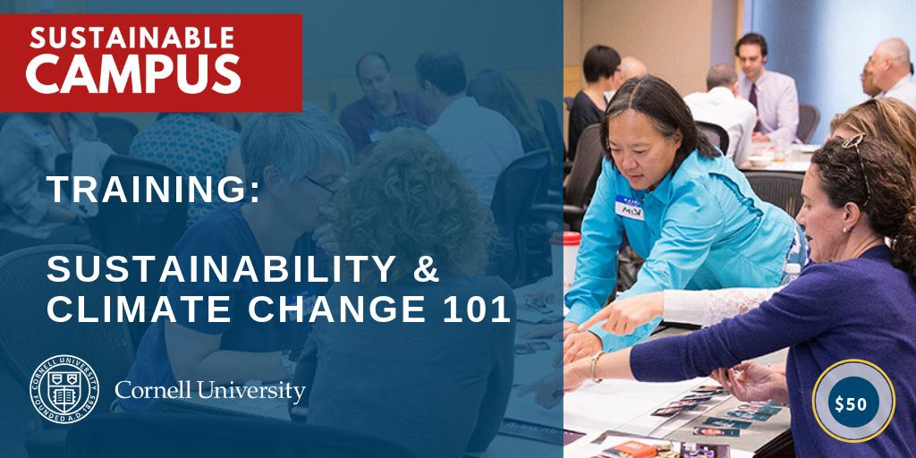 Sustainability 101 (Staff Training)