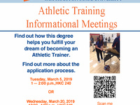 Athletic Training Informational Meeting