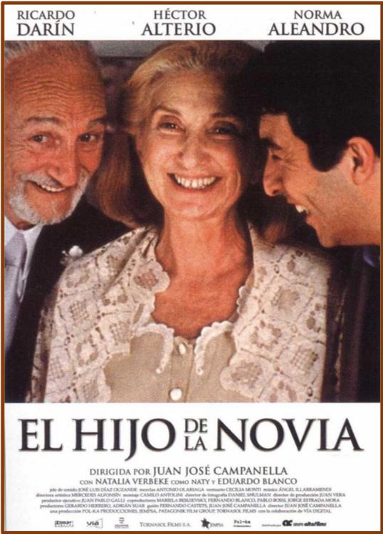 Hispanic Film Series Screening // El hijo de la novia