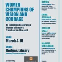 Women Champions of Vision and Courage