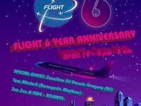 Flight: Six Year Anniversary w/DJ Dennis Gregory (Zanzibar)