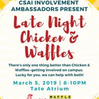 Late Night Chicken & Waffles