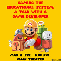 Gaming the Educational System: A Talk with a Game Developer