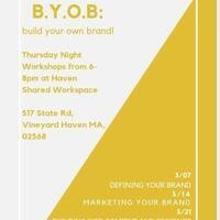 Build Your Own Brand Workshop