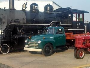 Trains, Trucks & Tractors