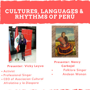 Cultures, Languages & Rhythms of Perú