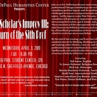 The Scholar's Improv III: Return of the Sith Prof