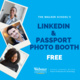 LinkedIn & Passport Photo Booth