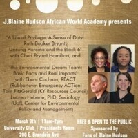J. Blaine Hudson African World Academy Presents