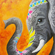 Wine Down Wednesday $10 Off: Paint and Sip: 4/10 Jaipur Elephant