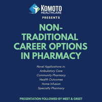 Nontraditional Career Options in Pharmacy