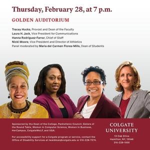 Women in Leadership at Colgate
