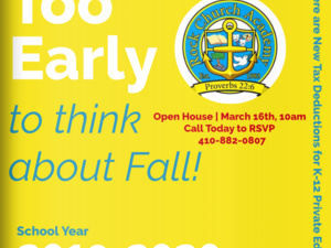 Rock Church Academy Spring Open House