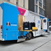 Mobile Mammography Van/Mamografía Móvil: Open Arms Circle