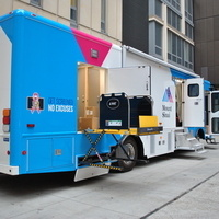 Mobile Mammography Van/Mamografía Móvil: SHARE's National Minority Health Month Health & Wellness Summit