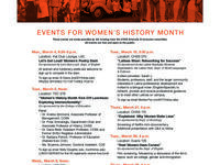 Women's History Month Kick-Off Luncheon