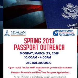Spring 2019 Passport Outreach