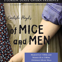 FSU Opera presents: Carlisle Floyd's OF MICE AND MEN (Ticketed)