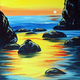 Paint and Sip: 4/14: Sunset Cove ~ Ages 21 and up ~