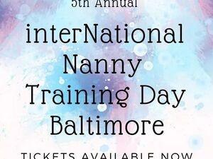 interNational Nanny Training Day Baltimore 2019