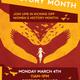 Women's History Month Kick-off