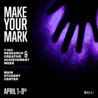 Research & Creative Achievement Week 2019