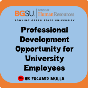 OHR Employee Training Opportunity: Employee Relations Training