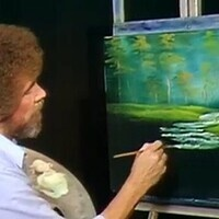 Beat the Devil Out : Bob Ross Painting Party