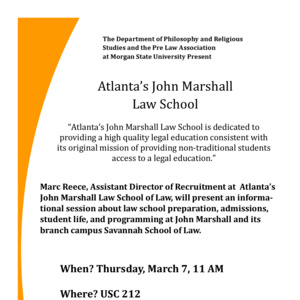 Law School Information Session