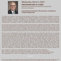 Seminar Series Continues with Dr. Eric M. Furst! | Chemical and Biomolecular Engineering