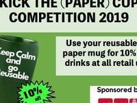 Kick the (Paper) Cup Competition