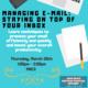 Wellness:   Managing E-Mail