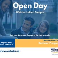 Open Day Bachelor Programs, Saturday, April 13th