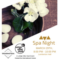 Spa Night | Lehigh After Dark