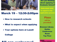 Grad School Info Session