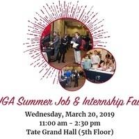 UGA Summer Job and Internship Fair 2019