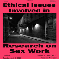 ORI Seminar Series – Research on Sex Work