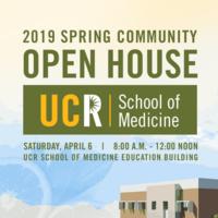 School of Medicine Spring Community Open House