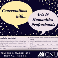 Conversations with Arts & Humanities