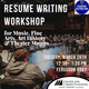 Resume Writing for Music, Fine Arts, Art History & Theater Majors
