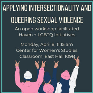 Applying Intersectionality and Queering Sexual Violence