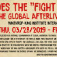 "Winthrop-King's ""Global Afterlives of May '68"" Conference"