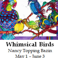 The Whimsical Birds of Nancy Topping Bazin