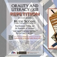 Orality and Literacy XIII: Repetition