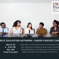 Price Education Network: Career Fireside Chat