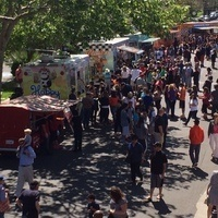 First Sundays Food Truck Mania in Downtown Woodland