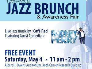 12th Annual Jazz Brunch & Awareness Fair