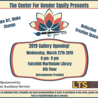 Be Your Own Gallery Opening | Center for Gender Equity