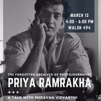 Priya Ramrakha: A Talk With Shravan Vidyarthi