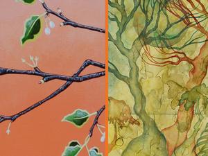Art at Lan Su: Jennifer Kapnek & Kamala Dolphin-Kingsley